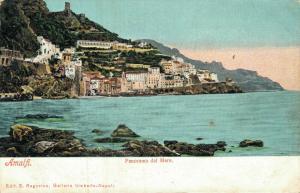 Italy Amalfi Panorama dal Mare 01.71