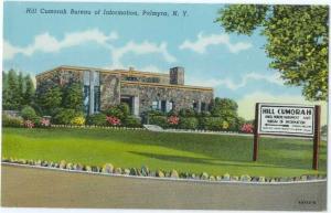 Linen of Hill Cumorah Bureau of Information Palmyra NY