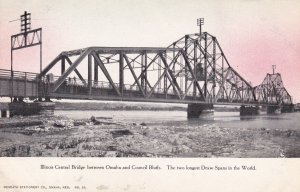 ILLINOIS, 00-10s; Central Bridge between Omaha and Council Bluffs
