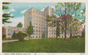 SAYRE, Pennsylvania, PU-1948; Robert Paker Hospital
