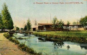 PA - Allentown. Dorney Park, 1906. A Pleasant Nook