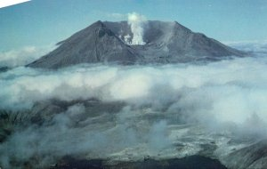 Washington Mount St Helens After 18 May 1980 Explosion