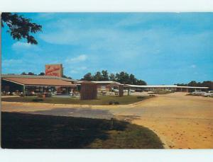 Unused Pre-1980 OLD CARS & JAMES RIVER MOTEL & RESTAURANT Albany GA u1031