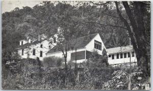 Newton Hamilton PA Postcard Beacon Lodge - Camp for the Blind w/ 1955 Cancel