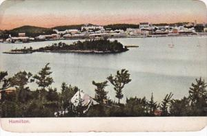 Bermuda Hamilton Harbor Scene