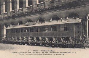 War 1914-18 ; PARIS , France , Hotel des Invalides , Wagon du Marechal Foch