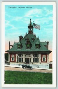 Clarkville TN~Post Office & Custom House~5 Victorian Styles Architecture~1920s