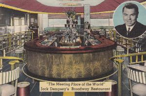 The Meeting Place of the World  Jack Dempsey's Restaurant