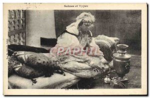 Old Postcard Scenes and types I & # 39heure of the