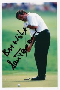 Sam Torrence European Golf Champion Large Hand Signed Photo