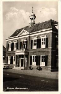 CPA Rhenen Gemeentehuis NETHERLANDS (728803)