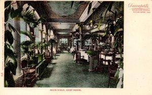 Spokane, Washington - The Main Aisle, East Room at the Davenport Hotel - c1905