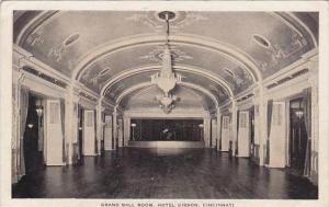 Ohio Cincinnati Grand Ball Room Hotel Gibson