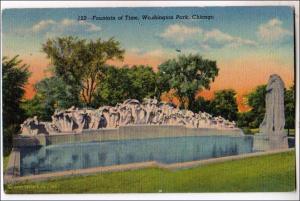 Fountain of Time, Washington Park, Chicago