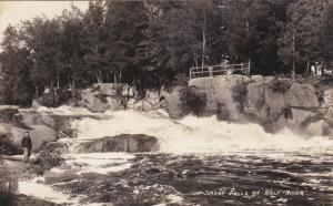 RP: Smoky Falls on Wolf River , Wisconsin , 20-30s