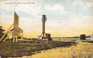 Fisherman's Point Guantanamo Bay Cuba 1910c postcard