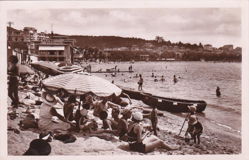 RP ; Ste-Maxime-Sur-Mer , France , 1930s ; Casino Municipal La Plage