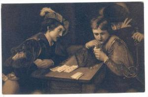 The Cheat, Michelangelo da Caravaggio, 1900-1910s