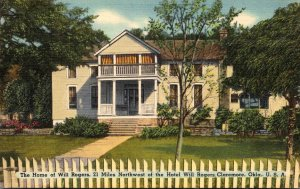 Oklahoma Claremore Will Rogers Birthplace