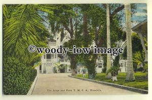 ft1282 - Army & Navy YMCA , Honolulu , Hawaii - postcard
