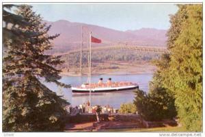 Steamers CPR S  Princess Patricia Lions Gate Bridge Vancouver BC Canada