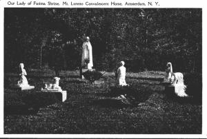 New York Amsterdam Mt Loretto Convalescent & Rest Home Our Lady Of Fatima Shrine