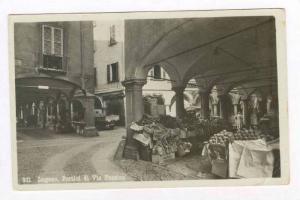 RP  LUGANO, Ticino, Switzerland, 00-10s   Portici di Via Pessina, Produce market