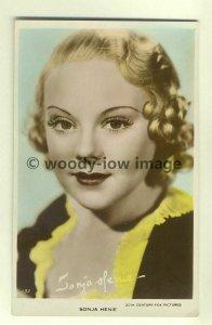 b1236 - Film Actress - Sonja Henie - postcard