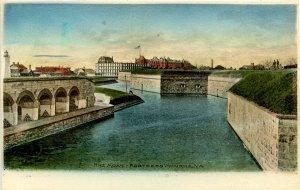 VA - Monroe. The Moat, Fortress