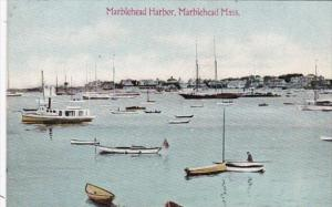 Massachusetts Marblehead Yachts In The Harbor