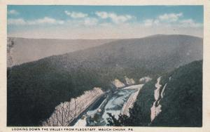 MAUCH CHUNK , Pennsylvania, 1910s ; Looking Down the Valley from Flagstaff