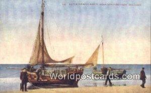 Dutch Fishing Boats Scheveningen, Holland Netherlands Unused
