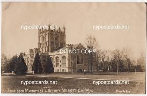 RPPC - Thompson Memorial Library, Vassar College
