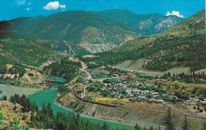 Canada Aerial View Lytton British Columbia