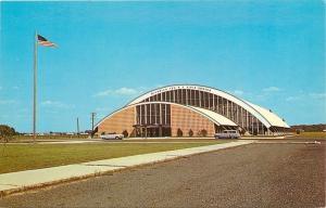 Salisbury Maryland~Wicomico Youth & Civic Center~1950s Cars~1960s Postcard