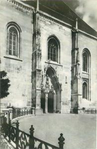 Romania Cluj detaliu din catedrala Sf. Mihail
