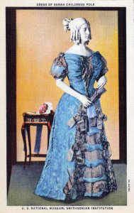 [ Photo-Colorit ] US Washington, D.C. - Smithsonian Sarah Childress Polk