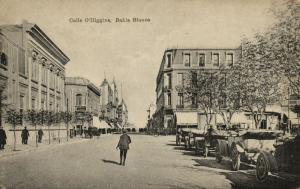 argentina, BAHIA BLANCA, Calle O'Higgins, Cars (1927) Eladio Bautista
