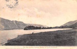 Scotland, UK Old Vintage Antique Post Card Bonnie Bonnie Bakns of Loch Lomond...