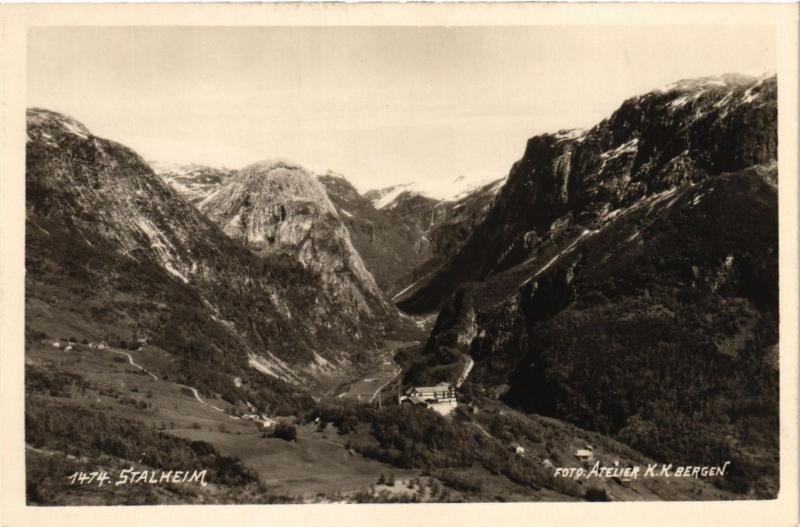 CPA AK NORWAY-Stalheim (332686)