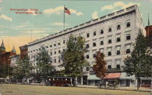 Metropolitan Hotel, Washington, D.C., PU-1914