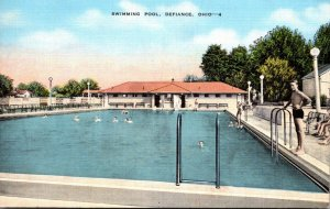 Ohio Defiance Swimming Pool 1945