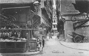 Germany Deutschland Frankfurt am Main Schirne, Schirn AK 1908