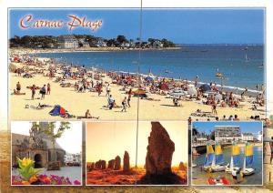 France Bretagne Pittoresque, Carnac Grande Plage, Churchill, Eglise St-Cornely