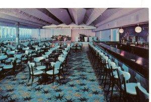 Vintage Postcard LAURELS HOTEL & COUNTRY CLUB Monticello NY Bavanda Lounge unuse