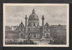 St Charles Church,Vienna,Austria Postcard