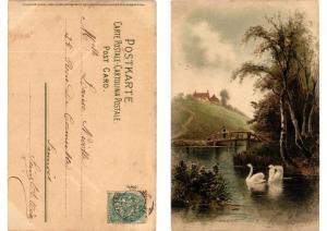 CPA Frohen Herzen frohe Stunden Meissner & Buch Litho Serie 1263 (730631)