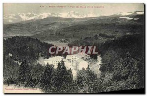Old Postcard Font Romeu Vue Generale and Garlitte