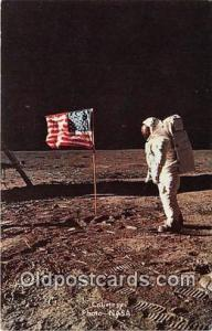 Space Postcard Apollo 11 Eva Man on the Moon, Astronaut Aldrin