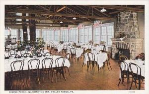 Pennsylvania Valley Forge Dining Porch Washington Inn